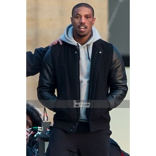 f690a8bdf2d Michael B. Jordan Creed Adonis Battle Jacket