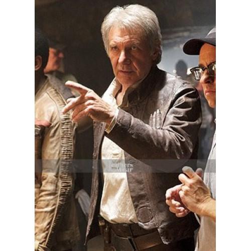 02f215c71 Star Wars Force Awakens Han Solo (Harrison Ford) Jacket