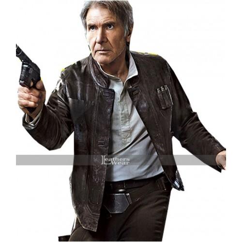 Awakens Force Star Wars Han Solo Jacket