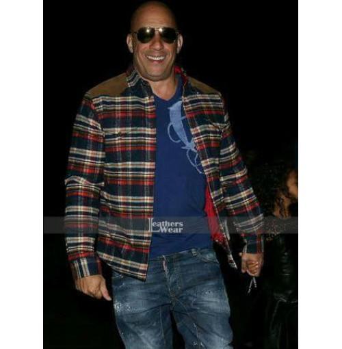 Vin Diesel Beyonce Los Angeles Concert Jacket