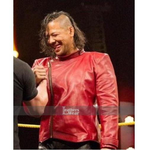 Shinsuke Nakamura Red Jacket