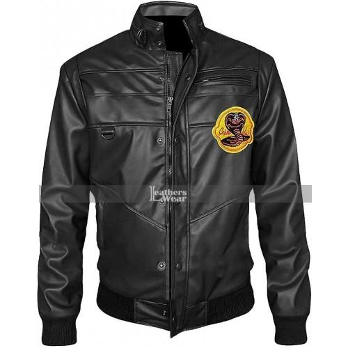 Cobra Kai Black Bomber Jacket