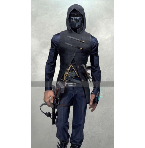 Dishonored 2 Corvo Attano Black Vest