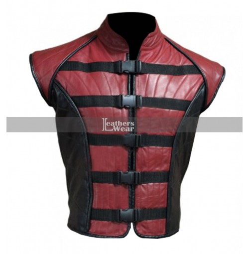 John Crichton Farscape Ben Browder Leather Vest