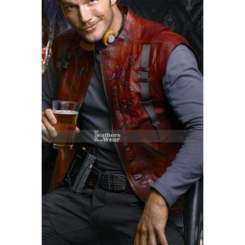 Guardians Of The Galaxy Chris Pratt (Star Lord) Red Vest