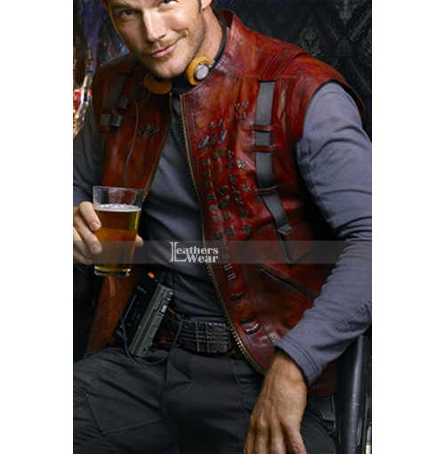 Guardians Of The Galaxy Chris Pratt (Star Lord) Red Vest