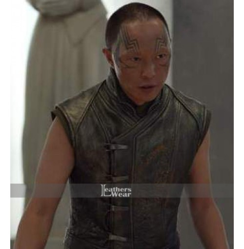 Inhumans Ken Leung (Karnak) Leather Vest