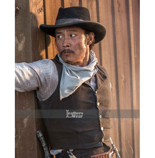 Lee Byung-hun Magnificent Seven (Billy Rocks) Black Vest