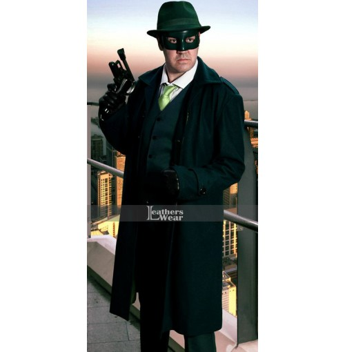 The Green Hornet Seth Rogen Trench Coat