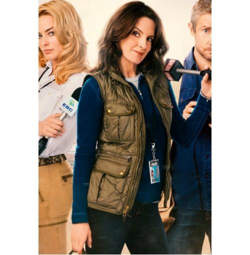 Whiskey Tango Foxtrot Tina Fey (Kim Baker) Vest
