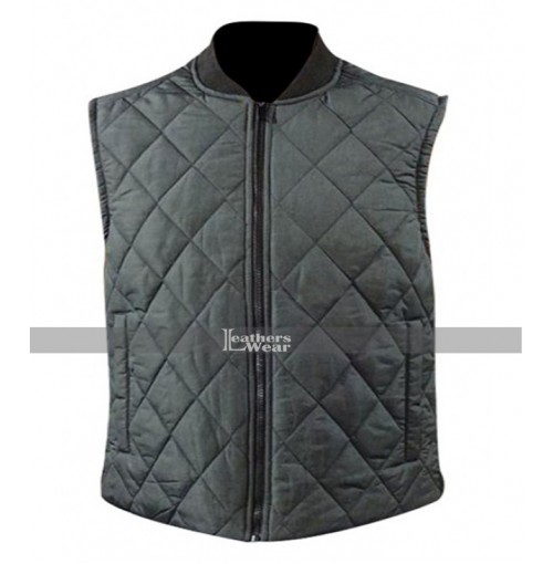 Michael B Jordan Adonis Creed Quilted Vest