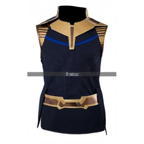 Thanos Avengers Infinity War (Josh Brolin) Costume Leather Vest