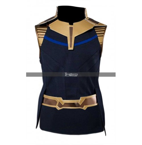 Thanos Avengers Infinity War (Josh Brolin) Costume Leather Vest