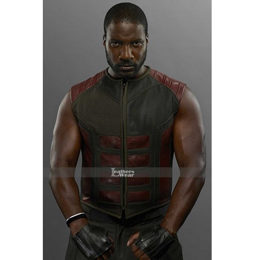 Inhumans Gorgon (Eme Ikwuakor) Halloween Leather Vest