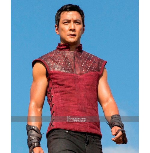 Into the Badlands Daniel Wu (Sunny) Red Vest