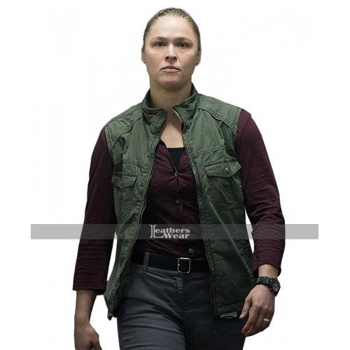 2018 Mile 22 Sam Snow Ronda Rousey Green Vest